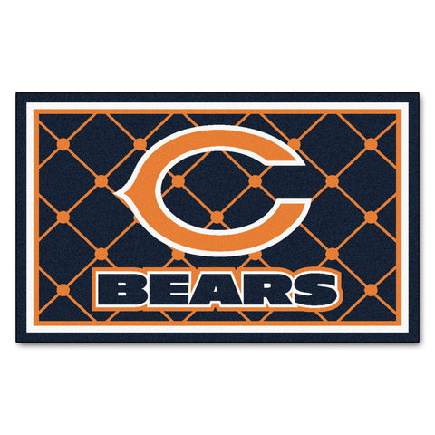 The Chicago Bears NFL 4Ft x 6Ft Area Rug - FanMats 6567