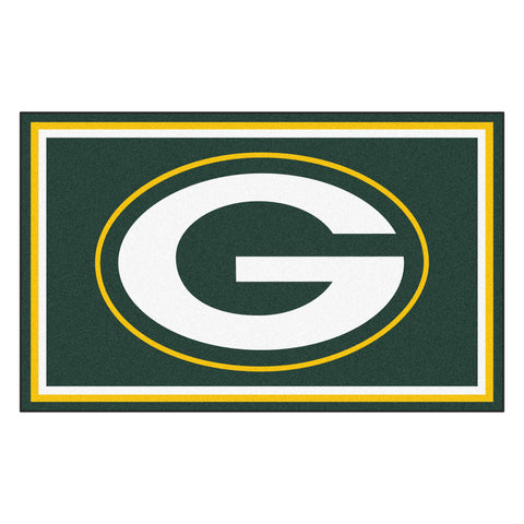 The Green Bay Packers NFL 4Ft x 6Ft Area Rug - FanMats 6577
