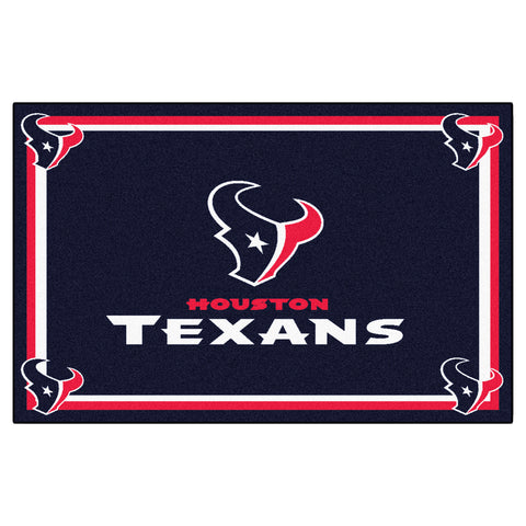 The Houston Texans NFL 4Ft x 6Ft Area Rug - FanMats 6580