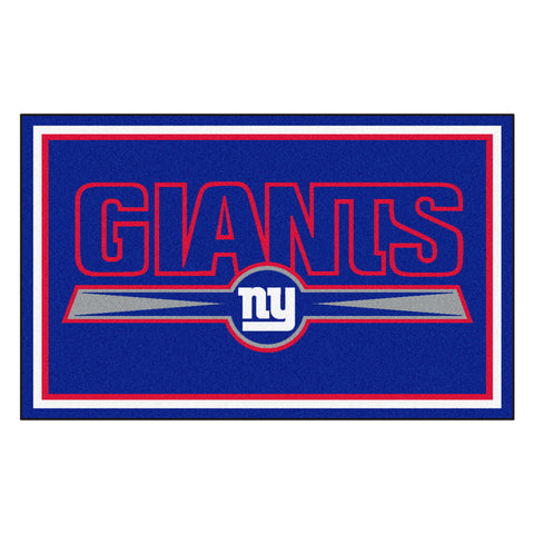 The New York Giants NFL 4Ft x 6Ft Area Rug - FanMats 6594
