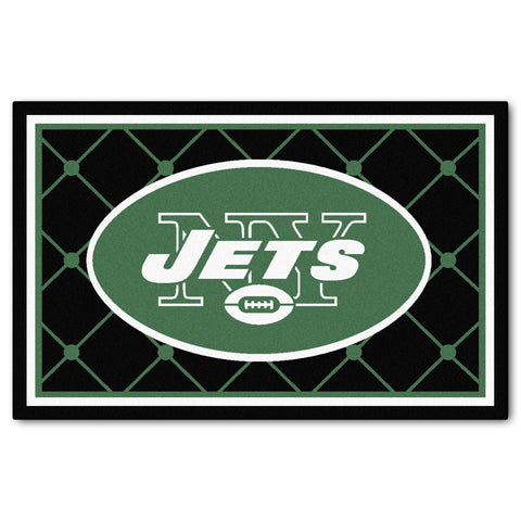 The New York Jets NFL 4Ft x 6Ft Area Rug - FanMats 6596