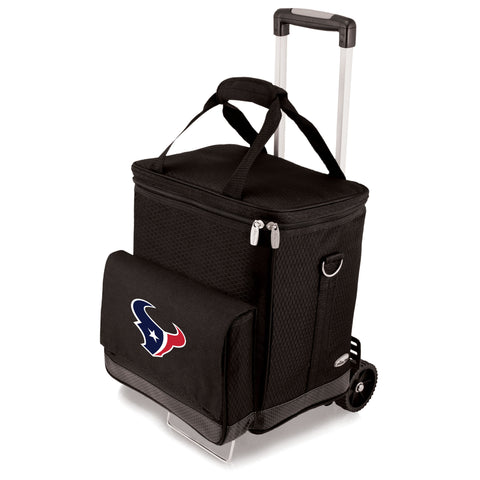 Houston Texans Cellar with Trolley