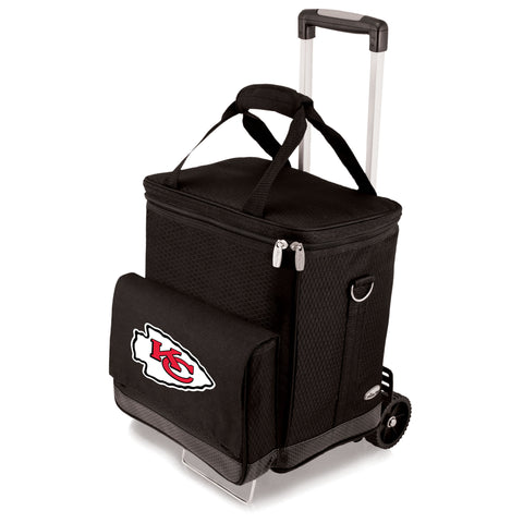 Kansas City Chiefs Cellar with Trolley