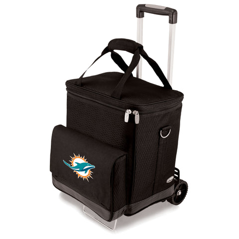 Miami Dolphins Cellar with Trolley