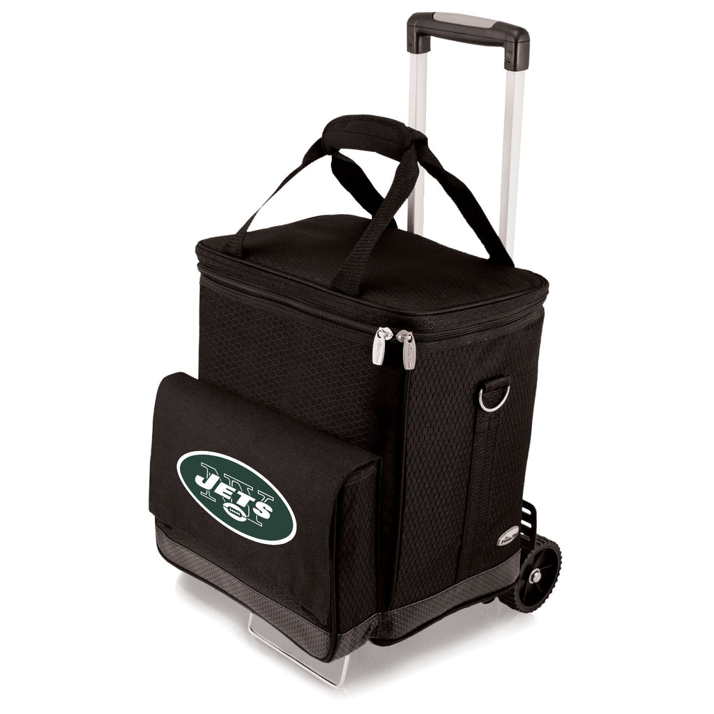 New York Jets Cellar with Trolley