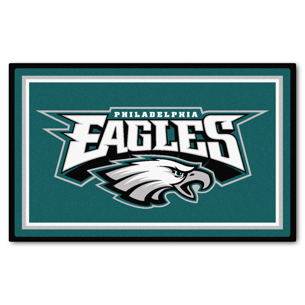 The Philadelphia Eagles NFL 4Ft x 6Ft Area Rug - FanMats 6600