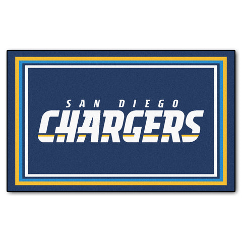 The San Diego Chargers NFL 4Ft x 6Ft Area Rug - FanMats 6602