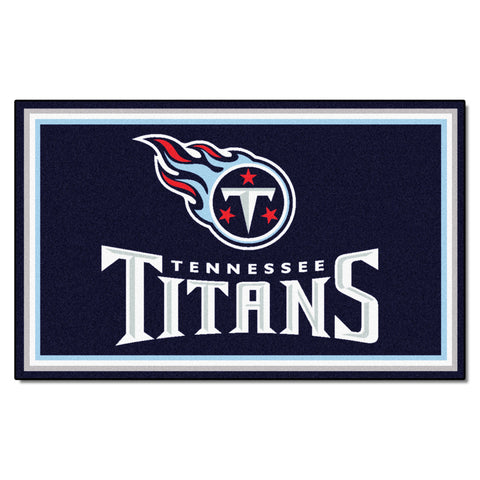 The Tennessee Titans NFL 4Ft x 6Ft Area Rug - FanMats 6611