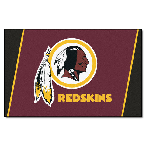 The Washington Redskins NFL 4Ft x 6Ft Area Rug - FanMats 6613