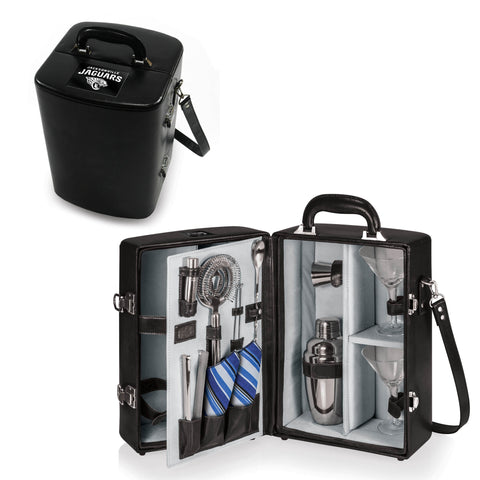 The Jacksonville Jaguars Manhattan Portable Cocktail Mini Bar Case