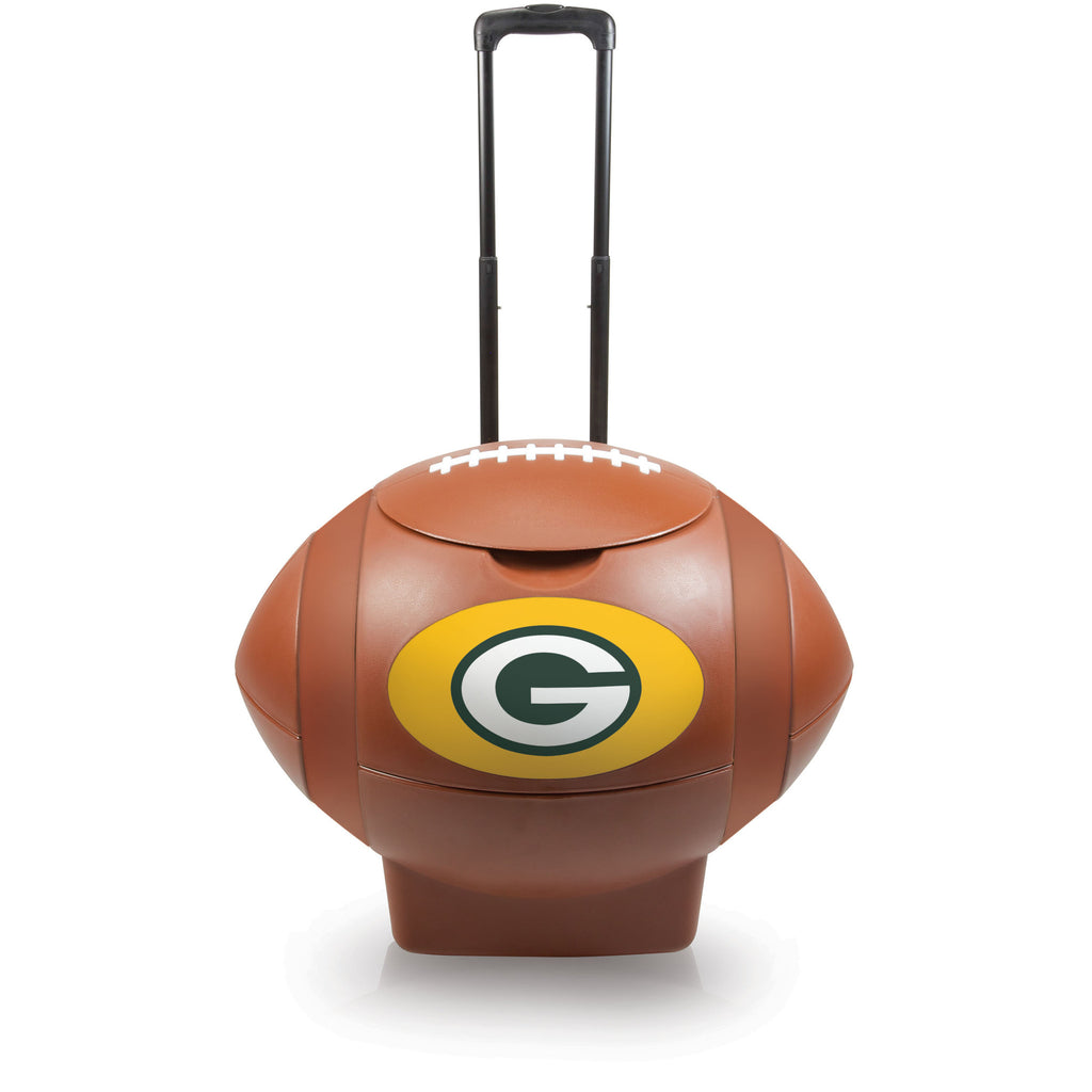 Green Bay Packers Football Cooler by Picnic Time