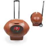 Football Shaped Tampa Bay Buccaneers Coolers