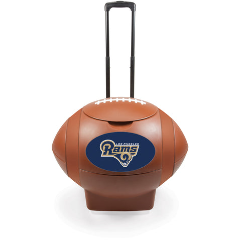 Los Angeles Rams Football Cooler by Picnic Time