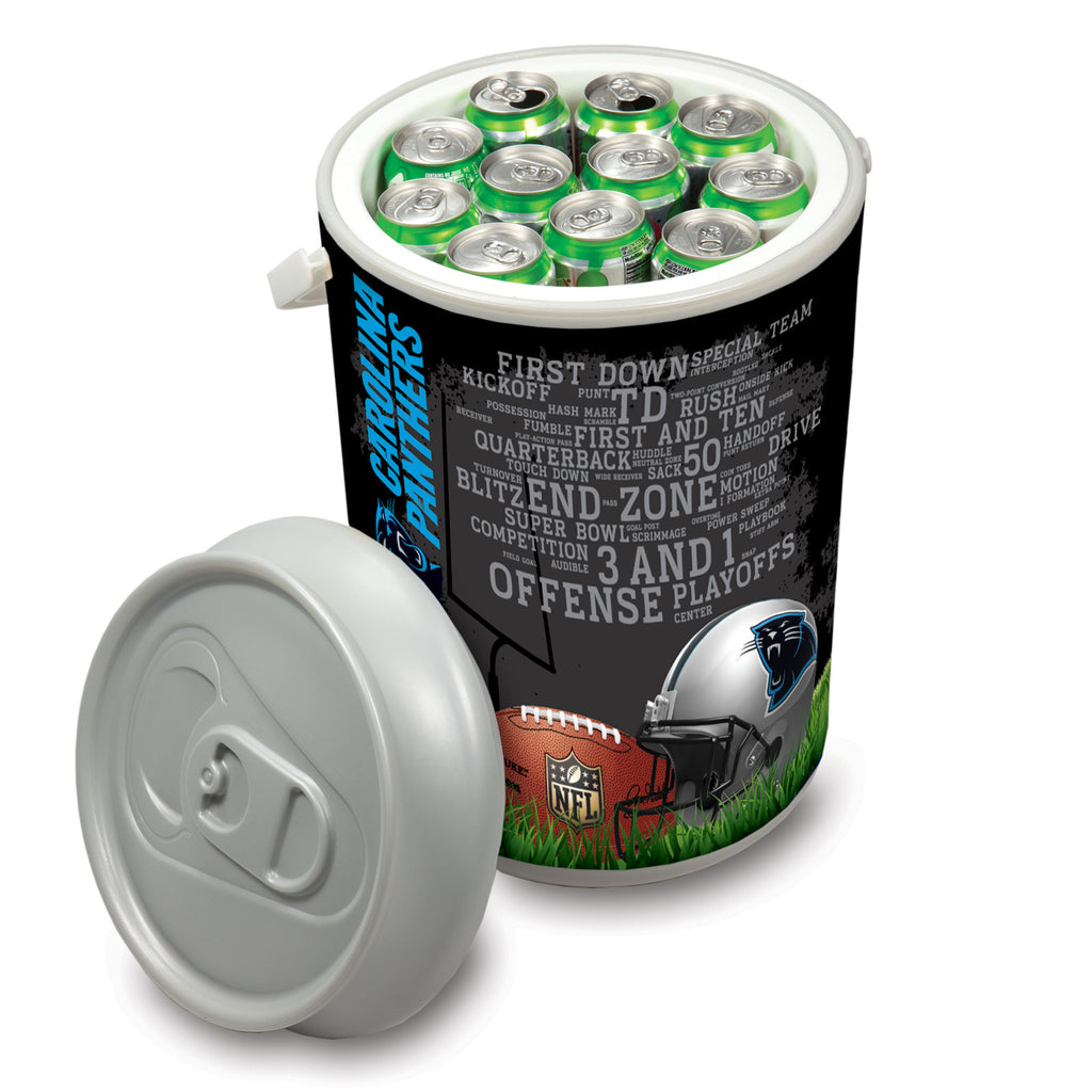 Picnic Time Carolina Panthers Mega Can Cooler