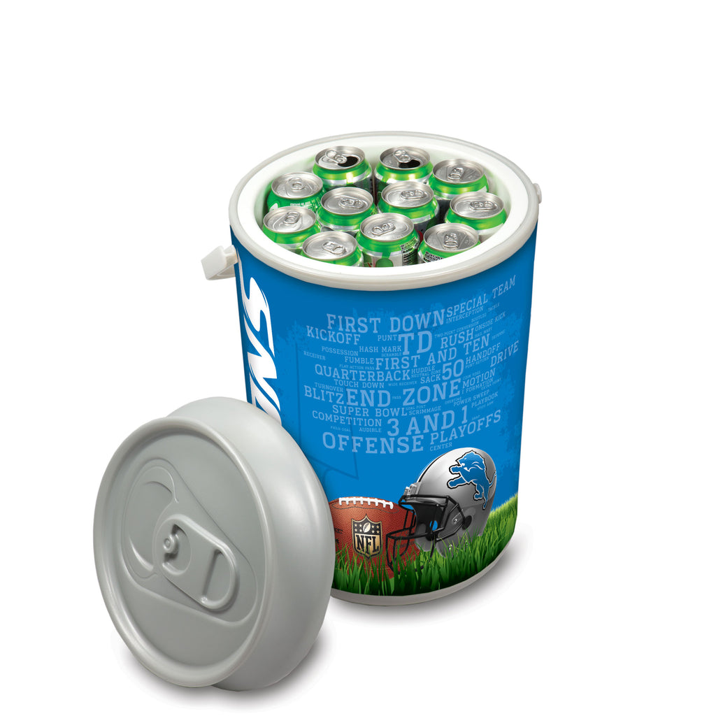 Picnic Time Detroit Lions Mega Can Cooler