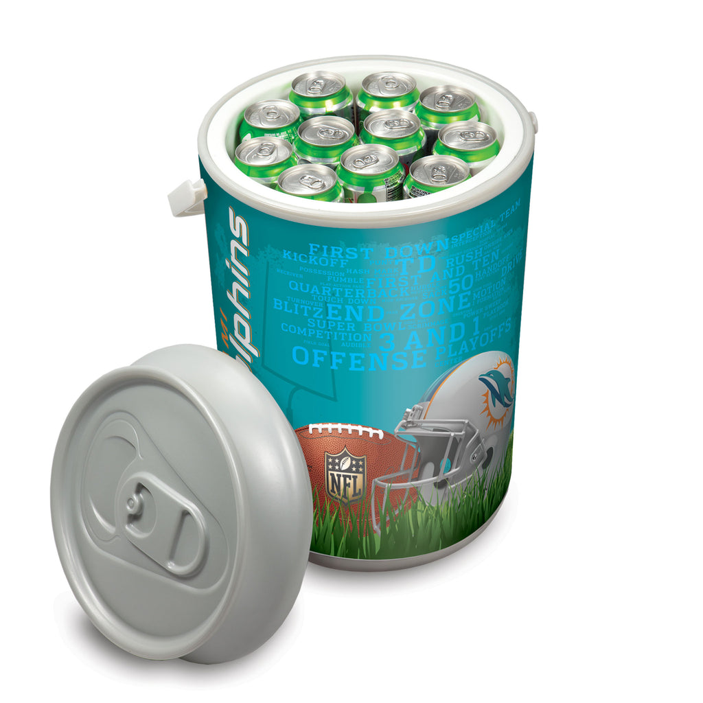 Picnic Time Miami Dolphins Mega Can Cooler