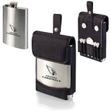 Arizona Cardinals Laser Engraved Golf Drinking Flask for Liquer
