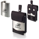 Miami Dolphins Laser Engraved Golf Drinking Flask for Liquer