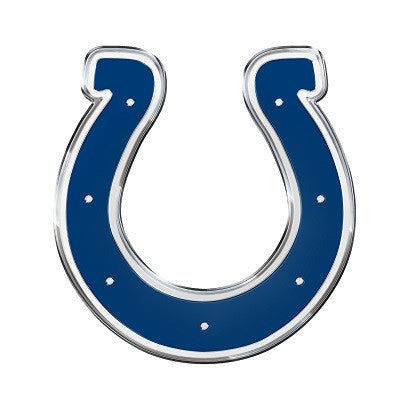 The Indianapolis Colt logo car and truck emblem for Colts team cars