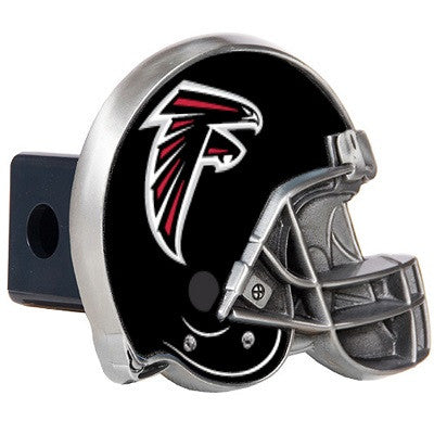 The Atlanta Falcon Helmet Shaped Trailer Hitch Cover for NFL Falcons fan Trucks