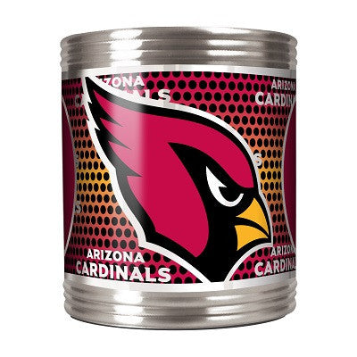 The Arizona Cardinal Stainless can coozie - Cardinals Kan Koozies