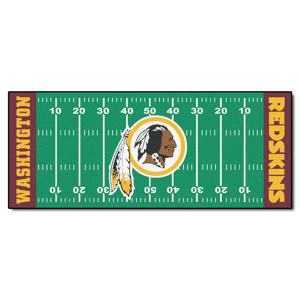 "Football Field Runner (30""x72"") - Washington Redskins"