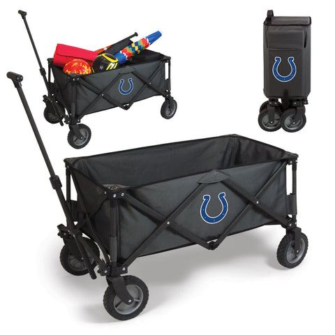 The Indianapolis Adventure Wagon for Colts NFL tailgating