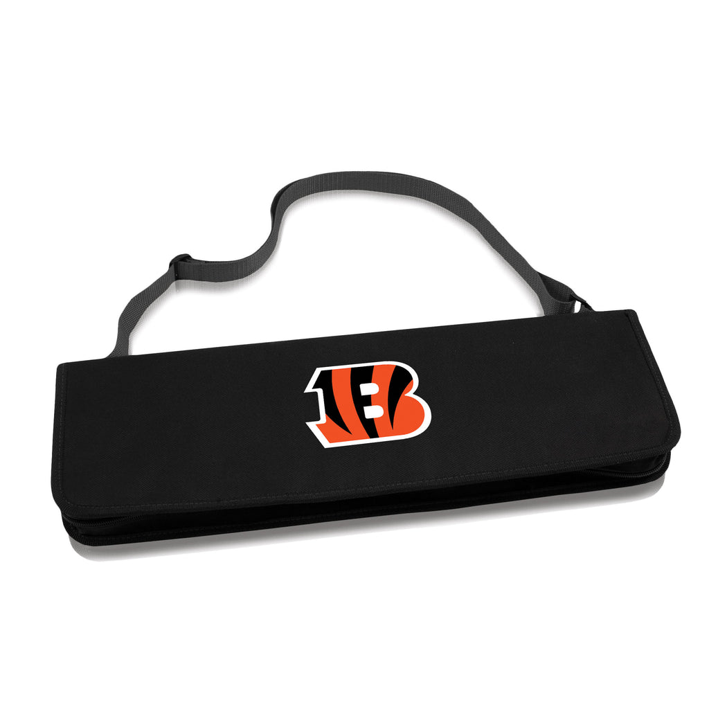 Cincinnati Bengals BBQ Tool set Metro by Picnic time