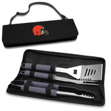 Grill tools for Cleveland Browns tailgating Metro BBQ