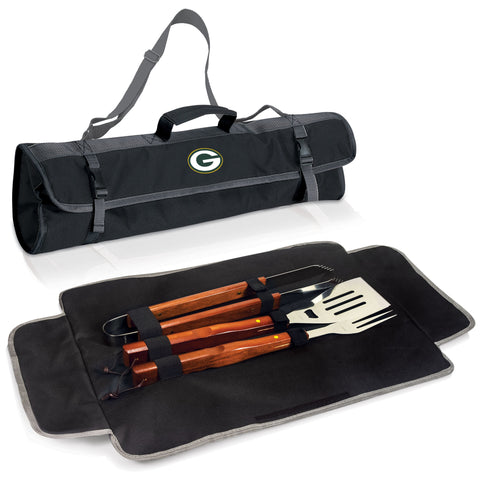 3-pc BBQ Tote Green Bay Packers