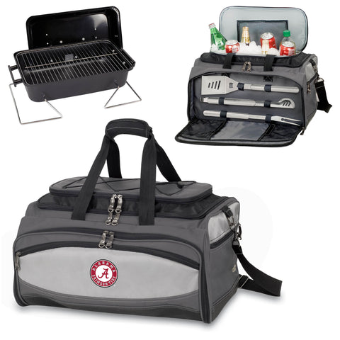 Alabama Crimson TideBuccaneer Grill with Cooler, tailgater grilling and cooling