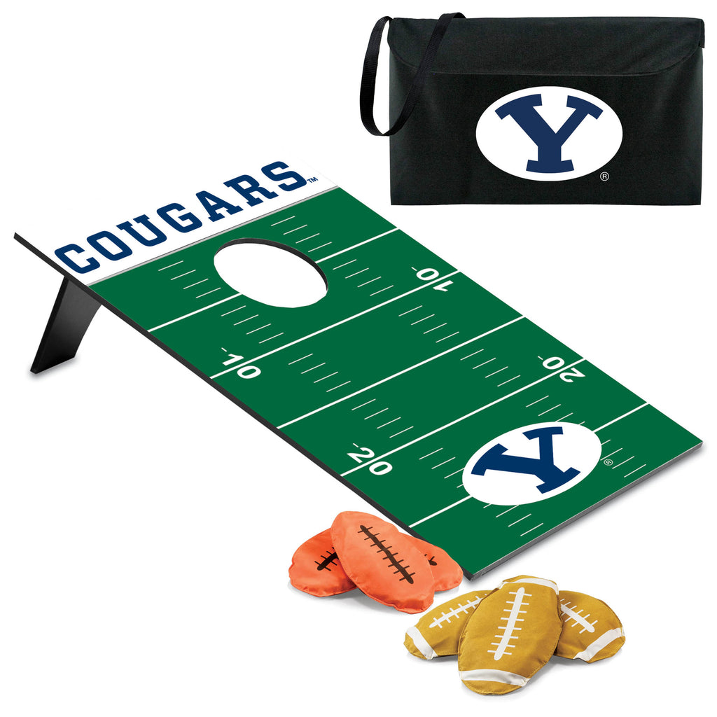 Bean Bag Throw-Football - Brigham Young University Cougars