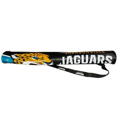 The Jacksonville Jaguar Can Shaft Cooler for Six Packs in Jaguars NFL Coolers - BSI 77236