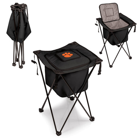 The Clemson University Tigers Side Kick Cooler with Stand - Picnic Time 779-00-179-104-0