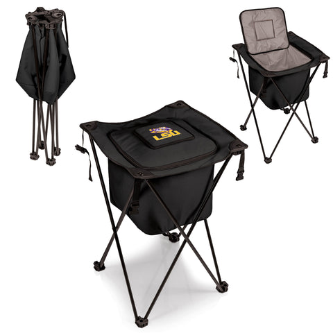 The Louisiana State University Tigers Side Kick Cooler with Stand - Picnic Time 779-00-179-294-0