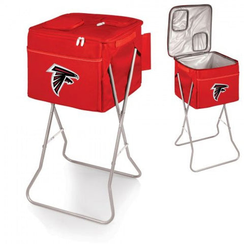 Red Atlanta Falcons Party Cube Cooler