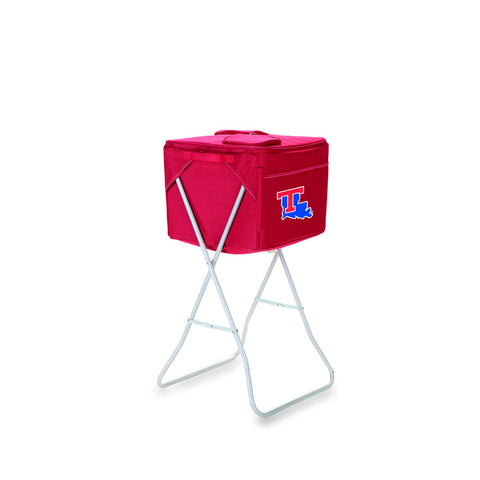 Louisiana Tech Bulldogs Cooler The Party Cube by Picnic Time