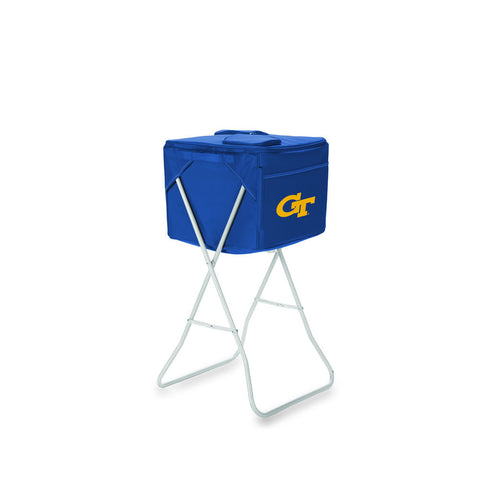 Georgia Tech Yellow Jackets Cooler The Party Cube by Picnic Time