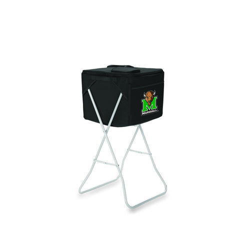 Marshall Thundering Herd Cooler The Party Cube by Picnic Time