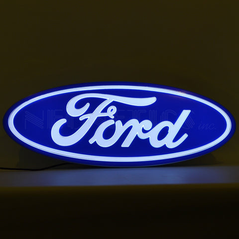 Neonetics Ford Oval Shaped Backlit Sign - 7FORD1