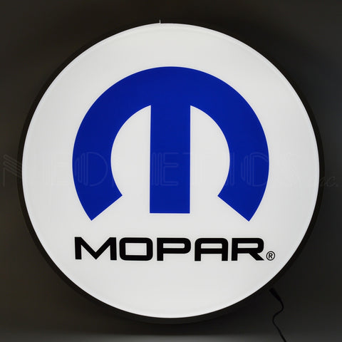 Neonetics Mopar Omega M 22 Inch Backlit LED Lighted Sign - 7MPROM
