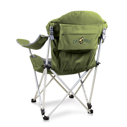 Cal Poly Mustangs Reclining Camp Chair