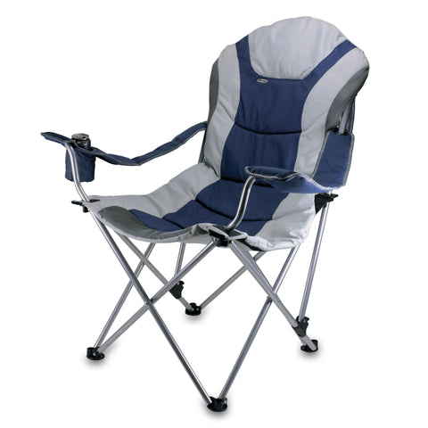 Blue Reclining Chair