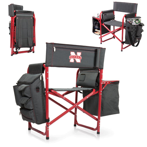 Nebraska Cornhuskers Fusion Chair by Picnic Time