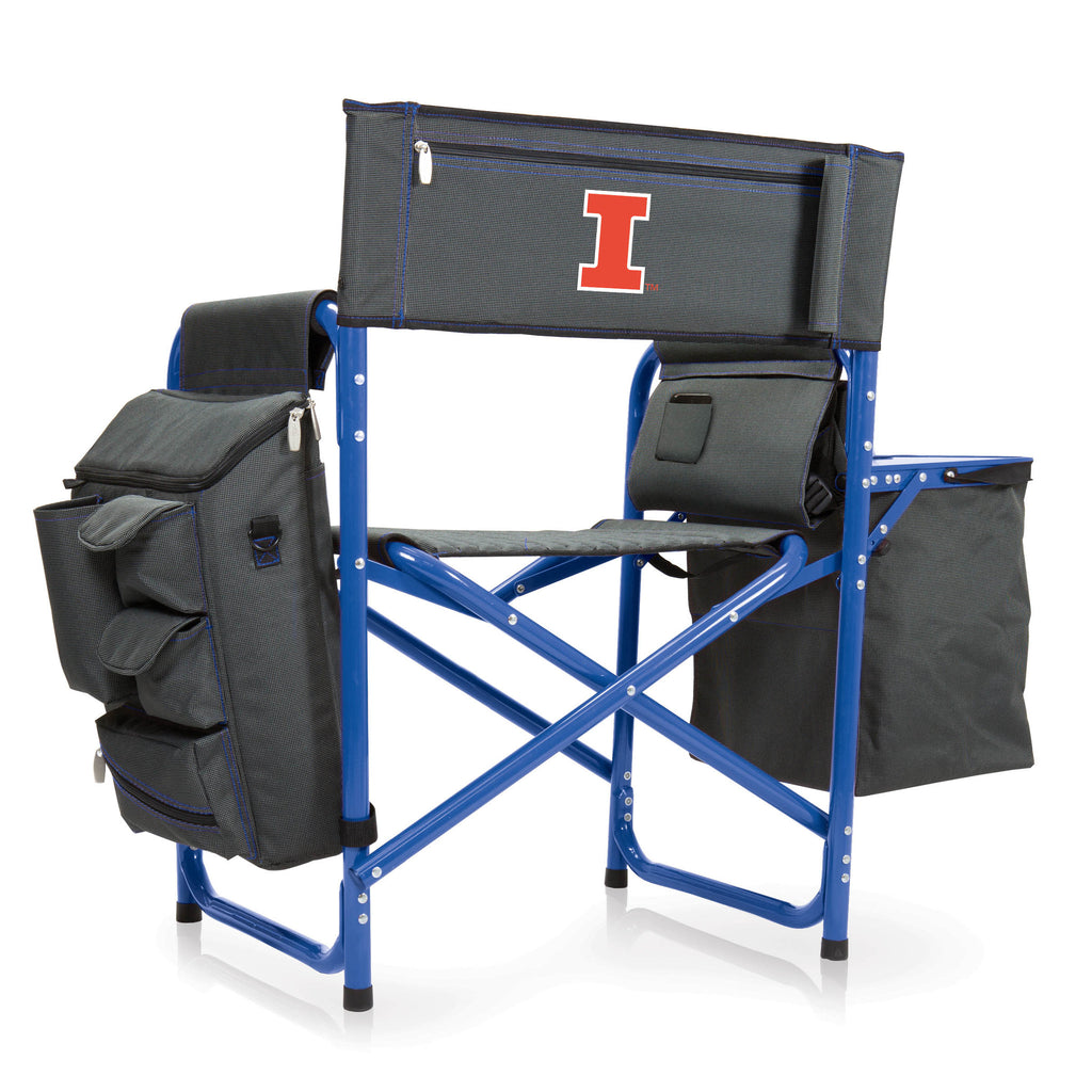 Illinois Fighting Illini Fusion Chair by Picnic Time
