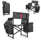 Picnic Time North Carolina State Wolfpack Fusion Chair