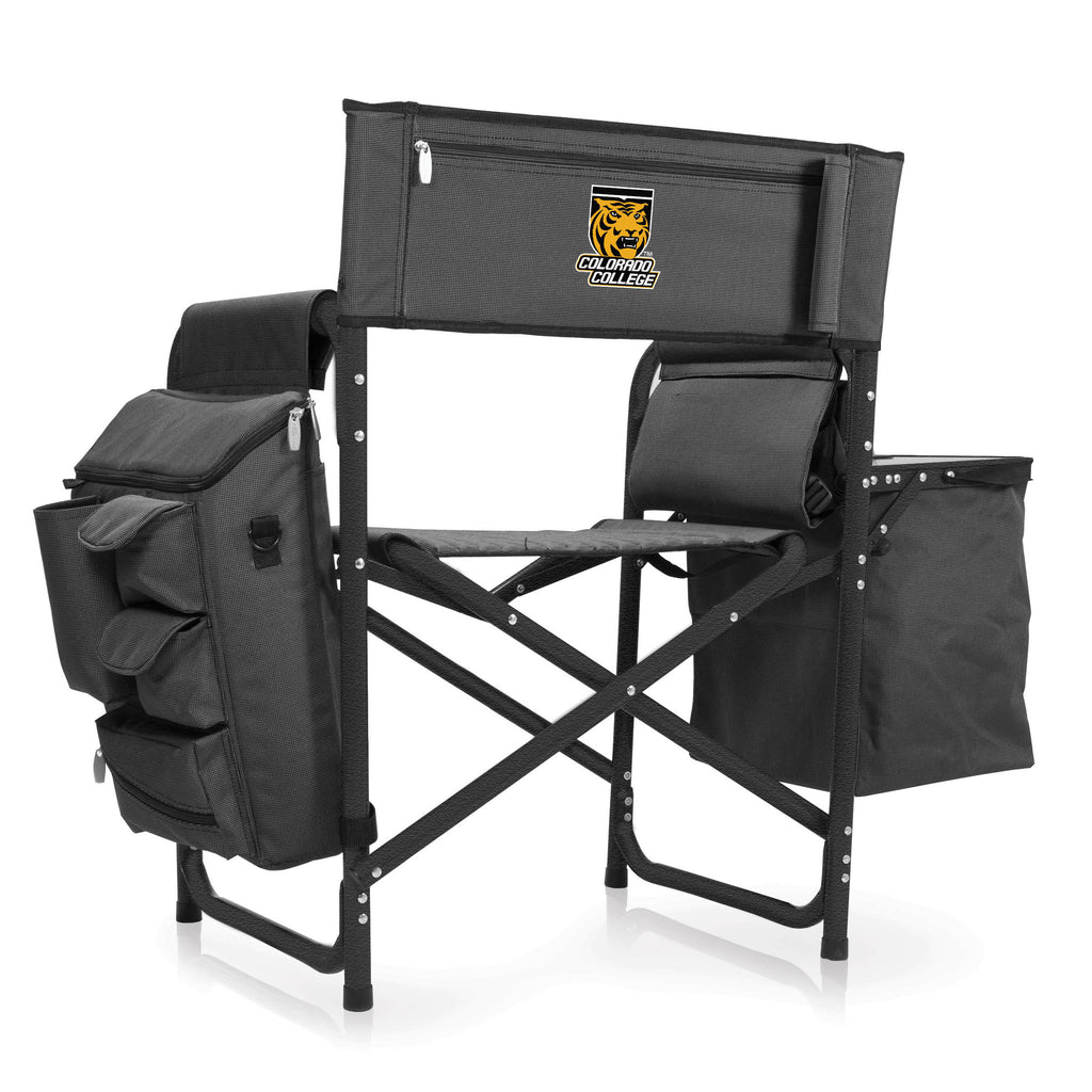 Colorado College Tigers Fusion Chair by Picnic Time