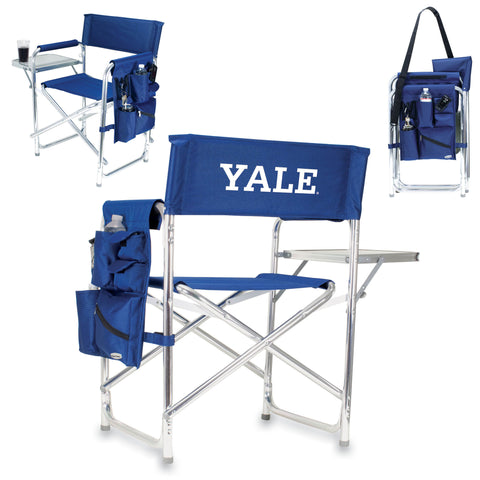 Yale Bulldogs Sports Chair by Picnic Time