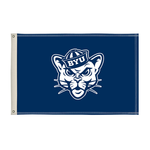 The 2Ft x 3Ft BYU Cougars Flag - Victory Corps 810002BYU-002