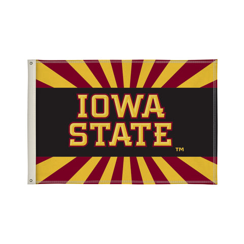 The 2Ft x 3Ft Iowa State Cyclones Flag - Victory Corps 810002IAS-001